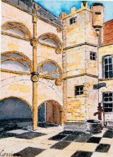 <p>Beaune. Hôtel de la Rochepot. 13x18cm </p>