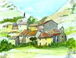 <p>Navacelles. Hérault. 18x13cm </p>
