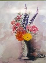 <p>le petit bouquet. 20x30cm.  vendu  </p>