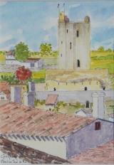 <p>St Emilion. Donjon du roi. 13x18cm </p>