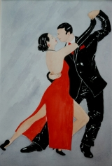 <p>Tango. 20x30cm vendu </p>