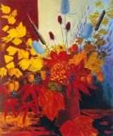 <p>bouquet d'automne 65x54 cm </p>