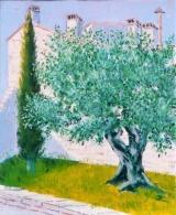 <p>castelnau. olivier & cyprès 27x35 cm </p>