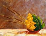 <p>ikebana. 41x33 cm </p>