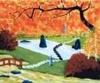 <p>jardin japonais. 61x50cm </p>