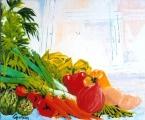 <p>légumes du jardin. 27x22cm </p>