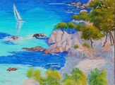 <p>Méditerranée. 73x54cm </p>