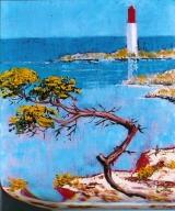 <p>Méditerranée. Sausset les pins. 22x27cm </p>