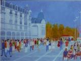 <p>Montpellier. la Comédie. 61x56cm </p>