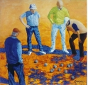 <p>Pétanque . 80x80cm disponible </p>