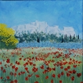 <p>    printemps en Alpilles. 30x30cm. disponible    </p>
