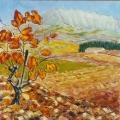 <p>Sainte Victoire. automne. 60x60cm </p>