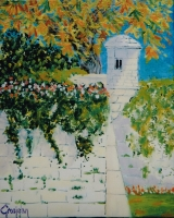 <p>Echauguette. Beaune 22x27cms. disponible  </p>