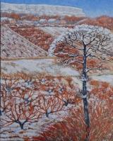 <p>Bourgogne. hiver 65x81 cm disponible </p>