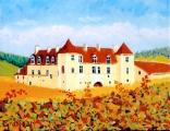 <p>Bourgogne. Clos Vougeot. 35x27 cms </p>