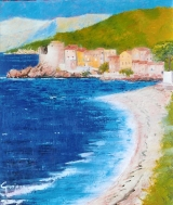 <p>Corse . Erbalunga 46x55cms. disponible  </p>