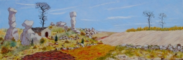<p>Larzac. 90x30cms disponible </p>