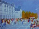 <p>Montpellier. Place de la Comédie. 61x50cms</p>