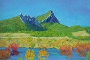 <p>Pic Saint Loup (34) 65x46cm. disponible</p>