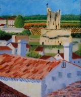 <p>St Emilion. le Tour du Roi. 22x27cms </p>
