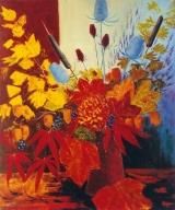 <p>Bouquet d' automne. 54x65cm    vendu  </p>