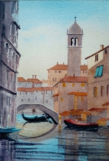<p>Venise. 20x30cms disponible </p>